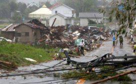 भीषण वर्षा र आँधीका कारण जापानको राजधानी टोकियो अस्तव्यस्त
