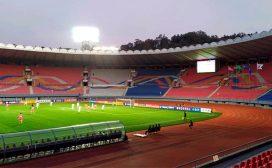 ३० वर्षपछि उत्तर र दक्षिण कोरियाली टोली आमने–सामने, तर स्टेडियम पुरै खाली