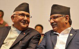 प्रधानमन्त्री ओलीलाई प्रचण्डको सुझाव : बाँस्कोटालाई राजीनामा दिन लगाउनुहोस
