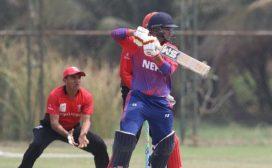 नेपाल दोस्रो खेलमा हङ्कङद्वारा ४३ रनले पराजित