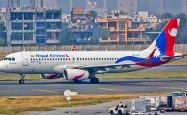 कोरोना परीक्षण गर्ने अत्यावश्यक सामग्री लिन चीन गएको विमान काठमाडौँमा