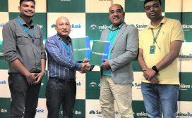 सानिमा बैंक र आईएमएस ग्रुपबीच ग्राहकलाई छुट प्रदान गर्ने सम्झौता