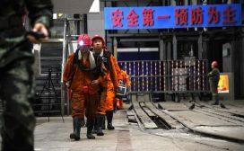 चीनको कोइला खानीमा च्यापिएर १६ मजदुरको मृत्यु
