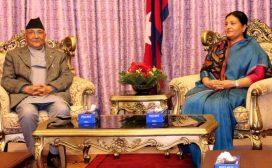 राष्ट्रपति भण्डारी र प्रधानमन्त्री ओलीले दिए अमेरिकी राष्ट्रपतिलाई बधाई तथा शुभकामना