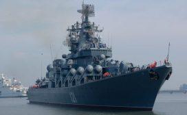 रुसी युद्धपोतले अमेरिकी नौसैनिक जहाज डुबाइदिने धम्की दिएपछि'