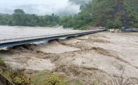 सेतीमा पानीको बहाव बढ्यो, जनजीवन प्रभावित